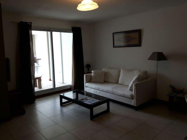 2 rooms flat in Noumea center