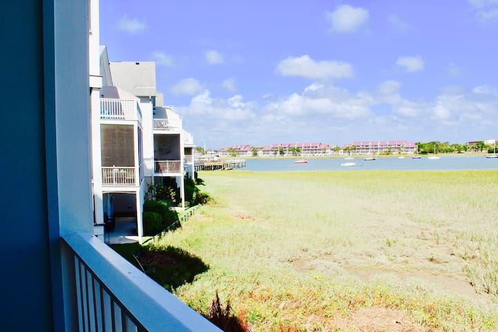 Water Front Home!! Steps away from Center Street!