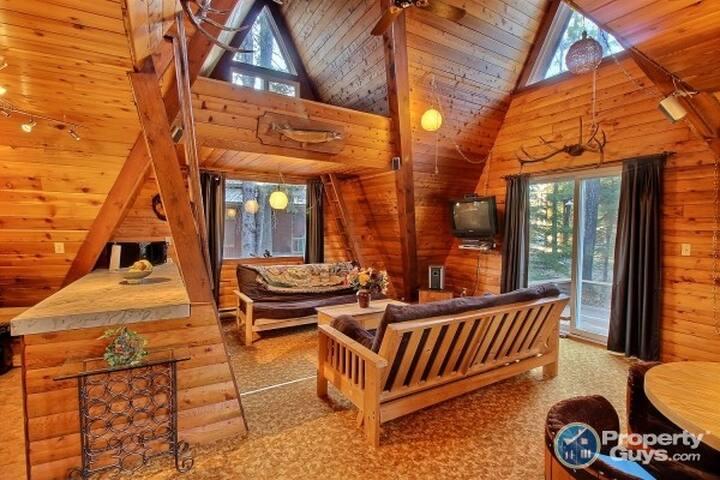 Beautiful Getaway Cabin @Turtle Lake Lodge