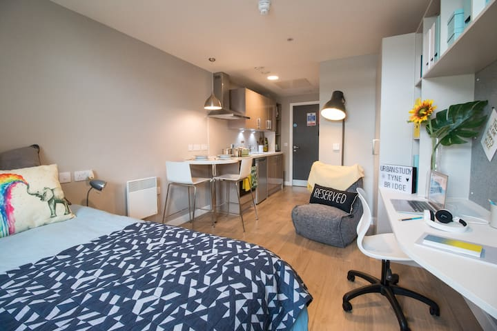 Centrally Located and Modern Studio In Newcastle