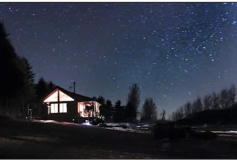 Kleine Hütte auf Rocky Top Farmen  (hundefreundlich!)