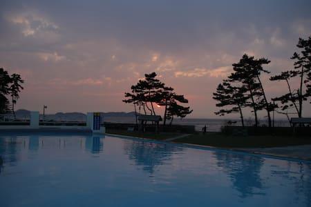 아름다운선셋의 오션뷰 커플룸 - Taean-gun - Autre