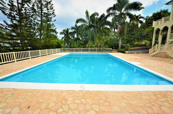 COOL RUNNINGS VILLA! LARGE POOL! FULLY STAFFED! GATED SECURE!  Thomas House- 6