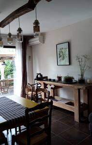 Maison atypique , confortable et au calme