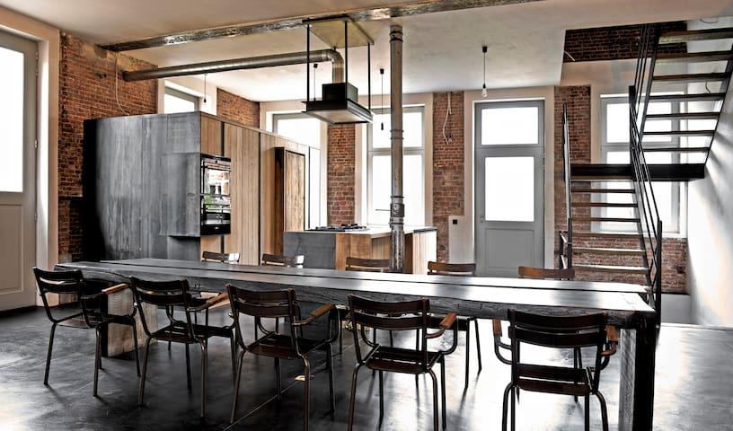 B&B Dr.Vee : logeren in historisch pand en park - Anderlecht - Loft