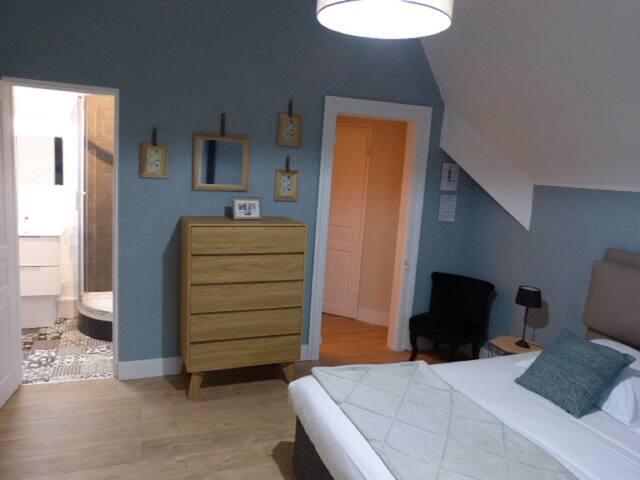 Opale-Double room-Comfort-Ensuite-Park View