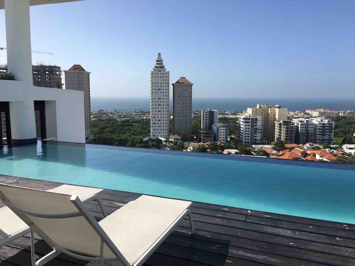 Luxurious 9th Floor W/ Ocean Views Los Cacicazgos