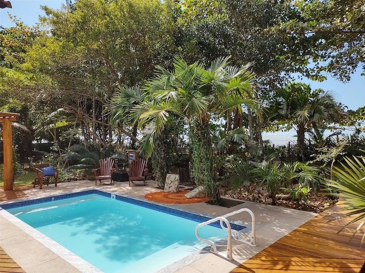 Casa Pé na Praia c\ piscina