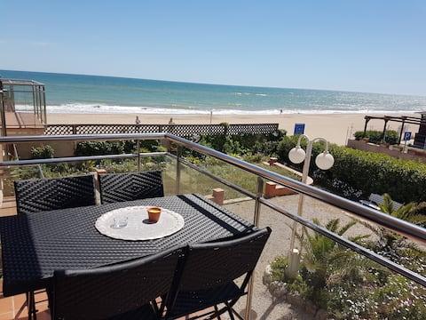 Apartamento Gava Mar con vistas a la playa