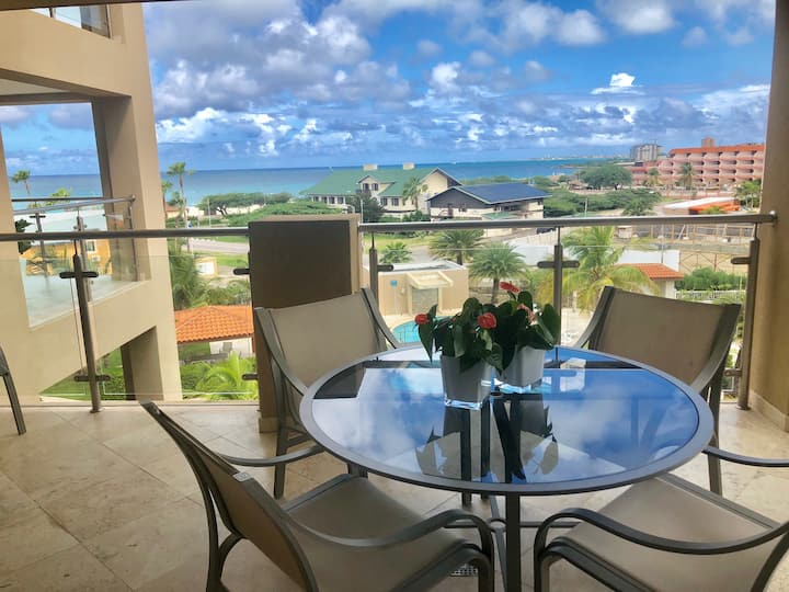 EAGLE BEACH-MAGNIFICENT OCEAN VIEW CONDO