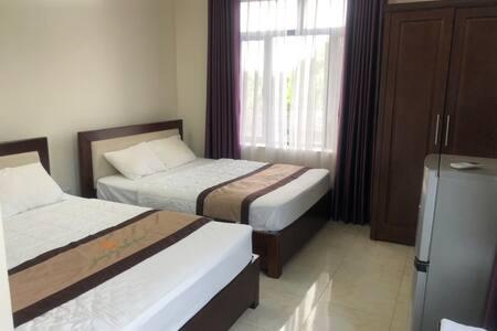 Hotel twin room Woody design Hoan Son, Tu Son