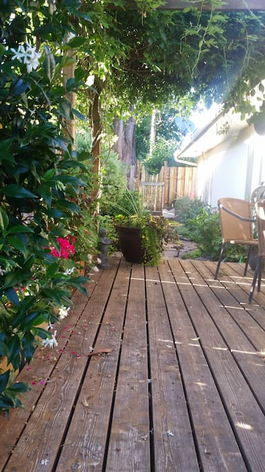 Find your peaceful breath of fresh air in the bewildering secret garden.