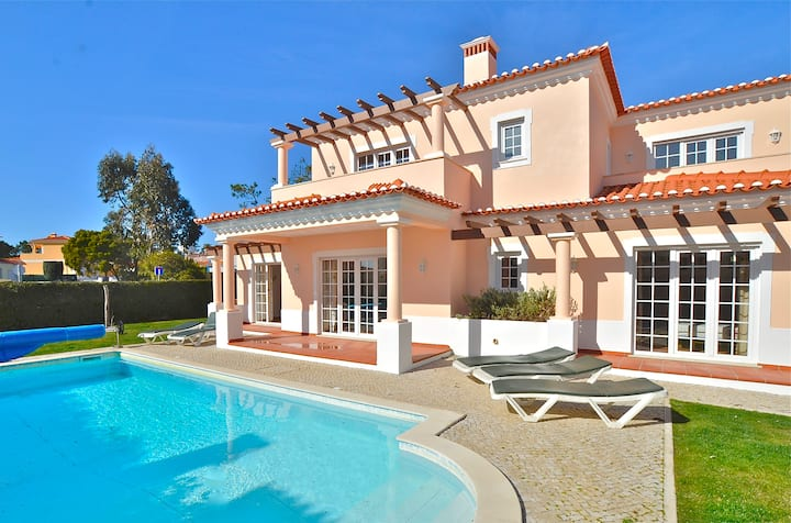The perfect holiday villa at Praia del Rey