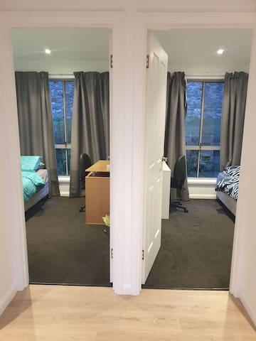 2 Single Bedroom near City with amazing view