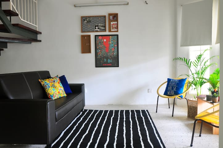 Shared living area.