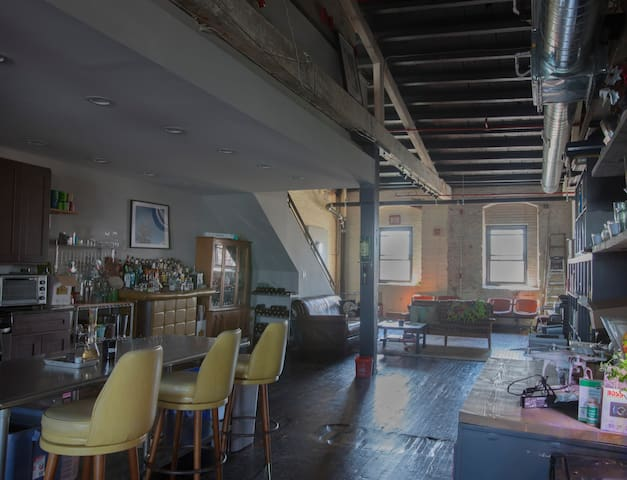 Nice room in Fishtown .Half a block from the train - Philadelphia - Loft