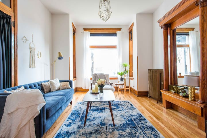 Andersonville Greystone With Modern Style