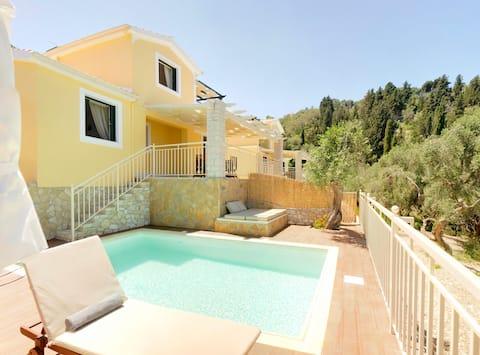 Luxusní Soukromý bazén Villa / Villas Muscalas, Elia