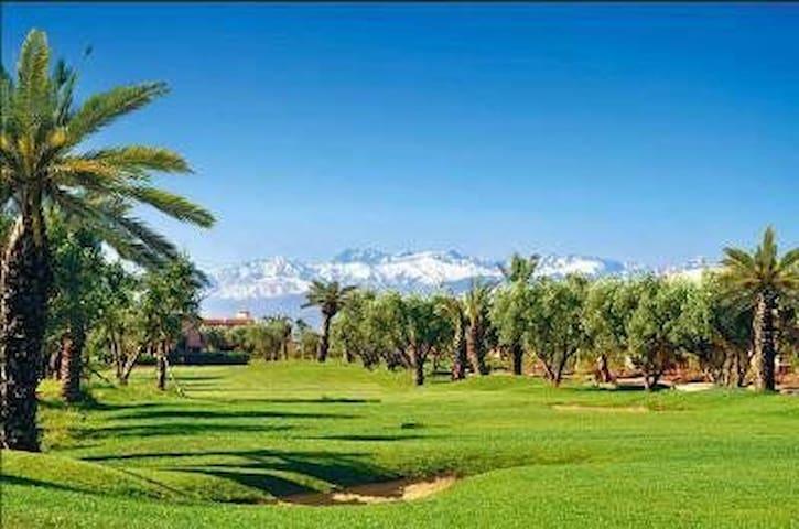 Beau appartement F2 avec solarium - Marrakech - Lägenhet