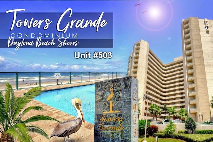 Towers Grande Condo - Oceanfront 3BR/3BA #503