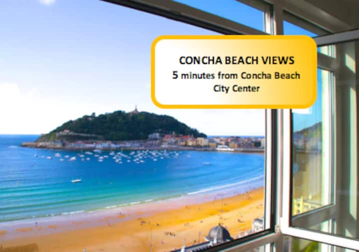 Amazing property with TOTAL views Concha Bay!