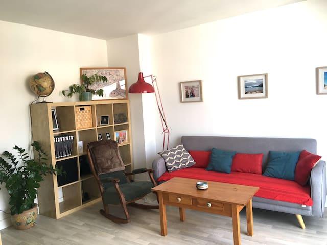 Appartment complet 1 chambre fermée