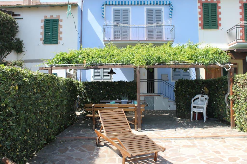 Casa azzurra piano terra fetovaia appartements louer - Piano casa toscana ...