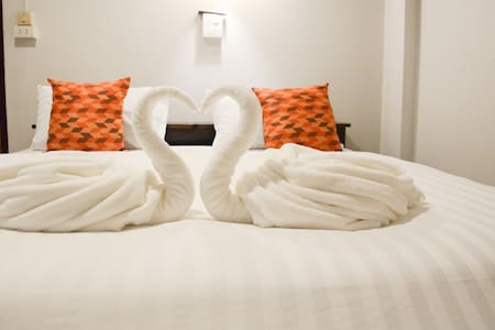Standard Double Room  with Private Bathroom - Tambon San Klang - 一軒家