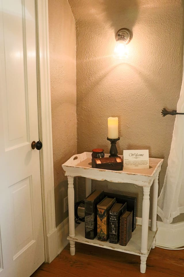 Your room has been carefully and lovingly decorated with great attention to detail.