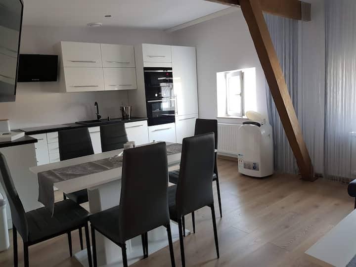 Mały, komfortowy apartament w centrum Szczecina