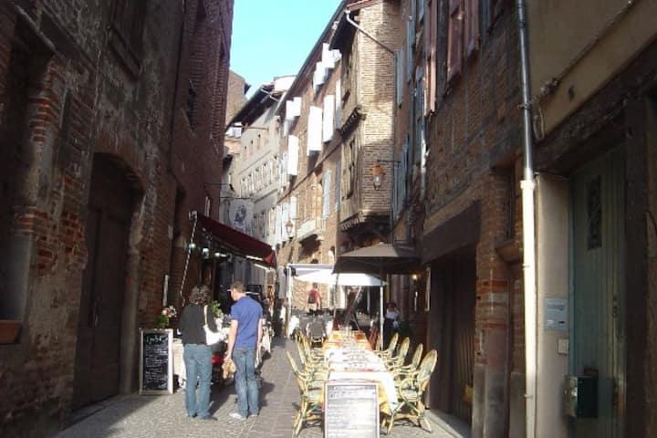 Appartement touristique, proche de la cathédrale