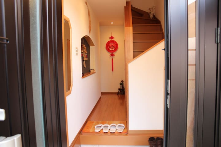 池上屋花(HANA)HOUSE 牡丹 ROOM shuttle bus - Kyōto-shi - Villa