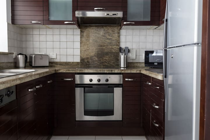Kitchen appliances ready
