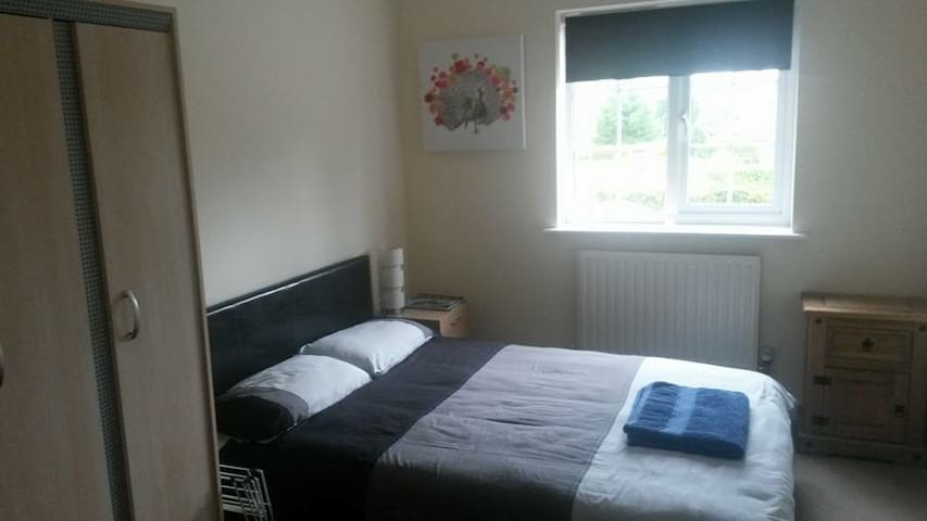 Clean and tidy spacious double bedroom