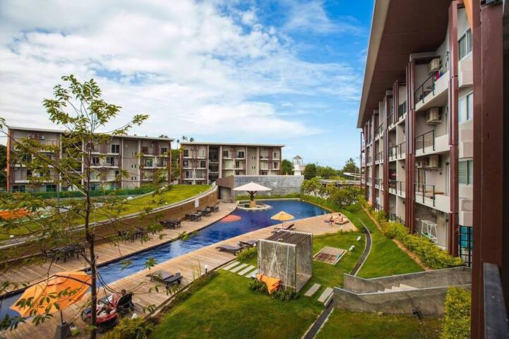 1 Bedroom Pool View Apartment