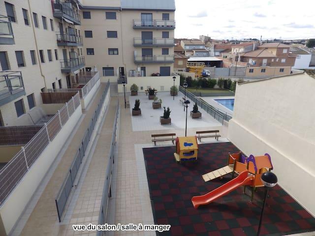 Appartement avec piscine privé - Caspe - Daire