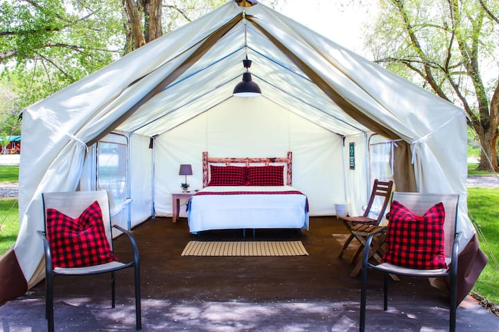 Standard Size Glamping Tent