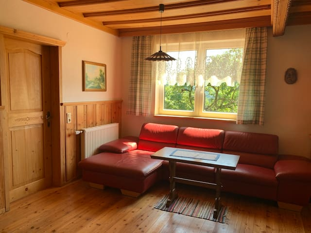 Gartenwohnung - eigener Zugang, nett, idylisch
