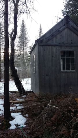 Farm Cabin - Northport - Hut