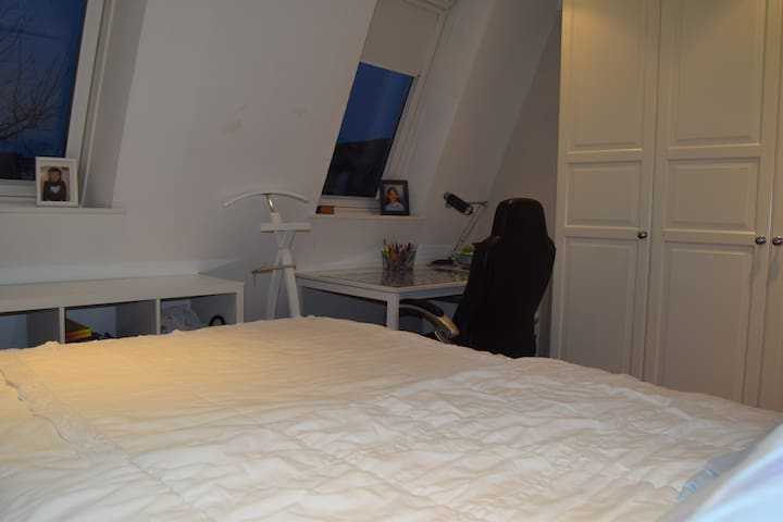 Study area in the loft bedroom.