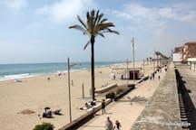 Sant Salvador Beach Promenade