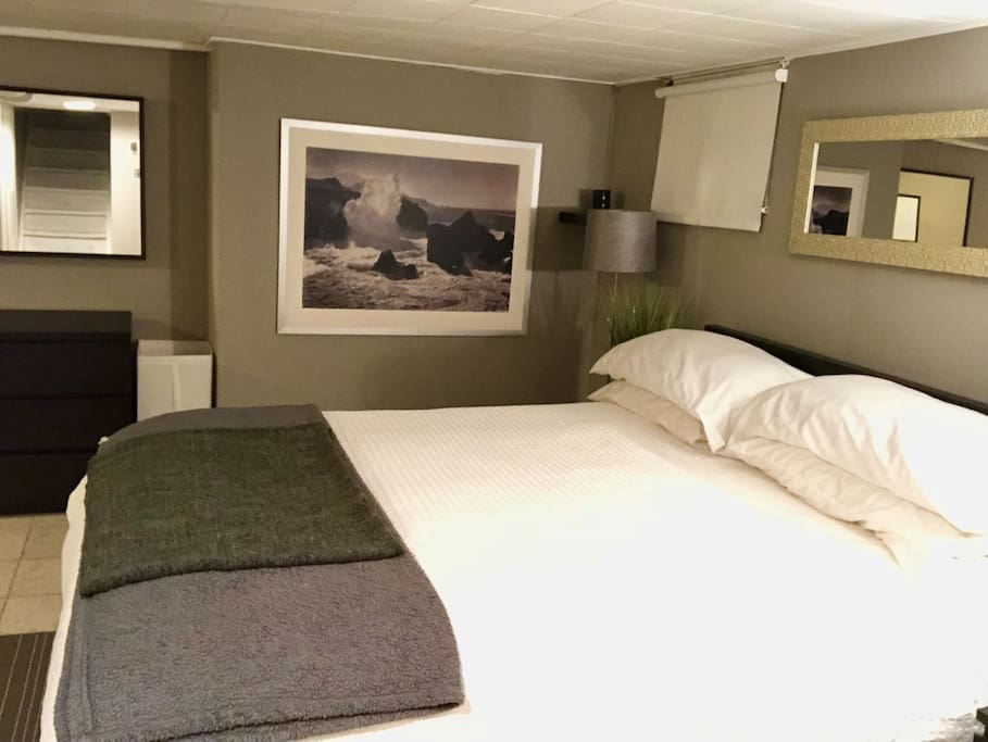 Two queen mattresses for extra comfort! Dedicated private bedroom with Office! - Massive oversized walk in closet