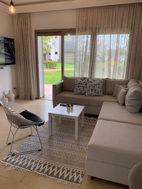 PERLA Saidia, 2bedrooms, SWIMMING POOL,BEACH 300m, wifi