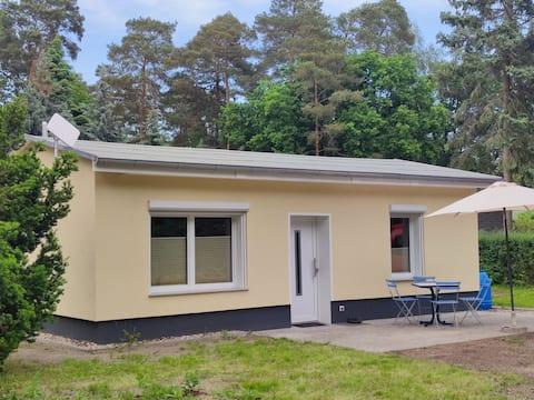 Ferienhaus am See in der Altmark.