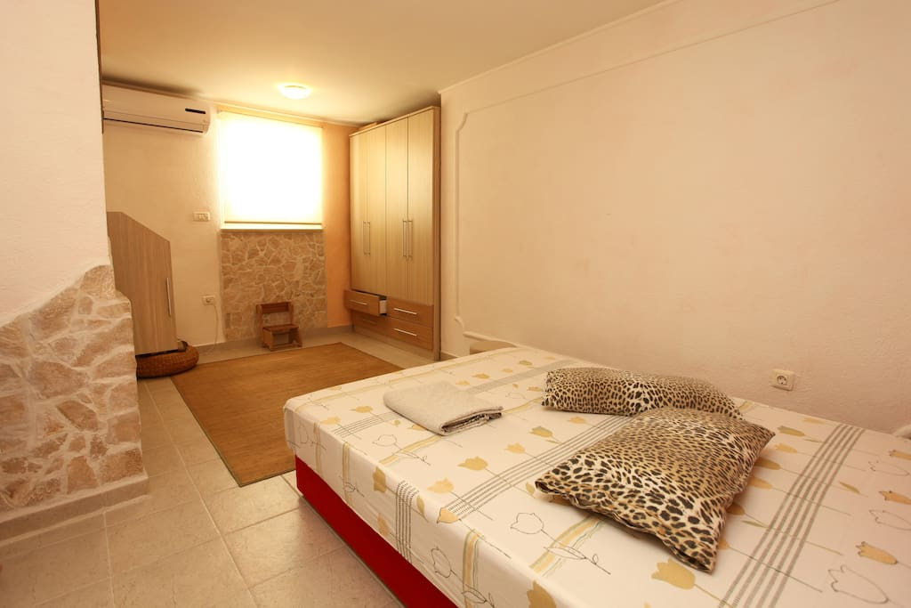 Spacious bedroom - king bed