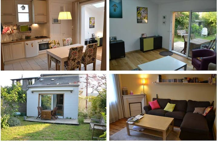 Cosy house in Tours with garden