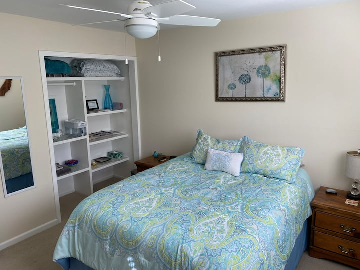 Comfy Bed and Private Bath, No Extra Fees!