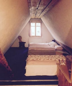 Room & breakfast in traditional wooden challet - Zázrivá