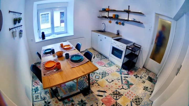 Apartment Lua on a great location with parking