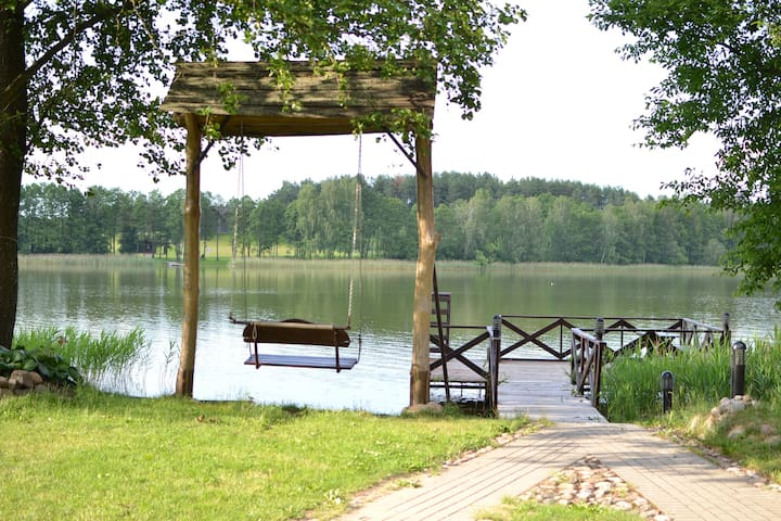 Holiday Villa on Lake Margis,TRAKAI - Trakų seniūnija - Villa